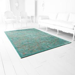 5 x 7.5 Viscose and Chenille Power Loomed Rug