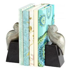 Perched Bird Bookends