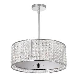 Polished Chrome 5 Light Chandelier - 158949