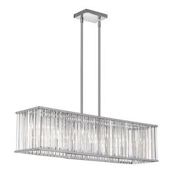 7Lt Horizontal Crystal Chandelier - 159124