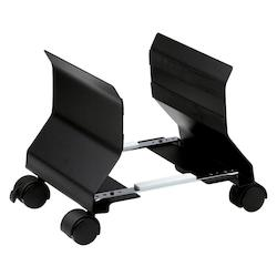 Metal Mobile Cpu Stand-Bk - 159260