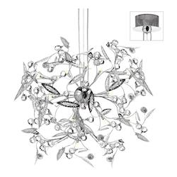 Polished Chrome Venus 25 Light Chandelier - 159356