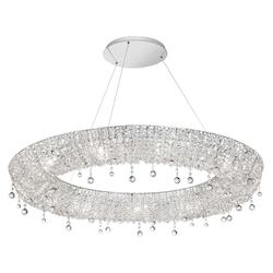 Polished Chrome Luxe 12 Light Chandelier - 159401