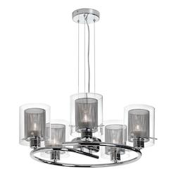 5Lt Contemporary Chandelier - 159467