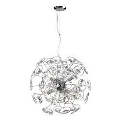 6Lt Crystal Chandelier - 159472
