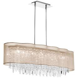 Polished Chrome Illusion 8 Light Chandelier - 159570