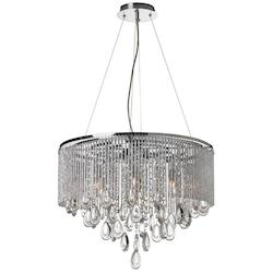 6Lt Crystal Chandelier - 159845
