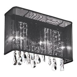 Polished Chrome Bohemian 1 Light Wall Sconce - 159936