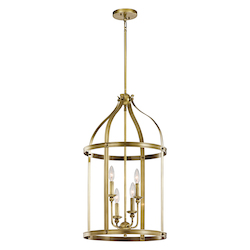 Large Foyer Pendant 4Lt