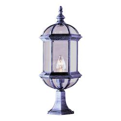 1 Light Post Lantern