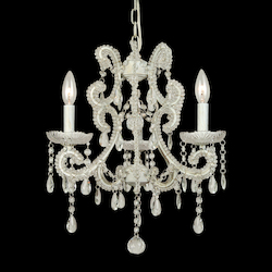 3 Light Crystal Ceiling Fixture - Bethel ET01C