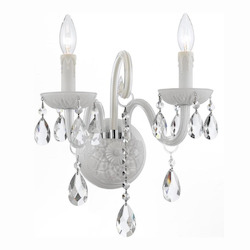 Envogue 2 Light Wet White Sconce