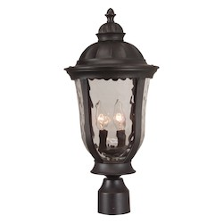 Craftmade Three Light Bronze Post Light - Z6025-92