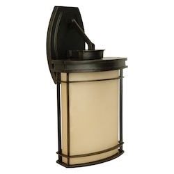 Craftmade One Light Bronze Wall Lantern - Z4314-92