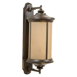 Craftmade Oiled Bronze Gilded Wall Lantern - Z6520-88
