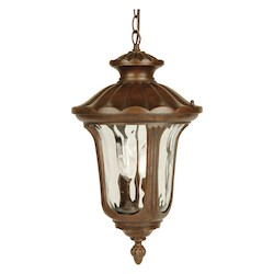 Craftmade Two Light Bronze Hanging Lantern - Z3521-98