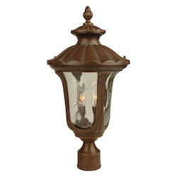 Craftmade Two Light Bronze Post Light - Z3525-98