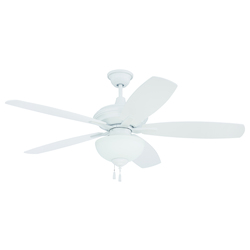 Craftmade White Ceiling Fan - CN52W5
