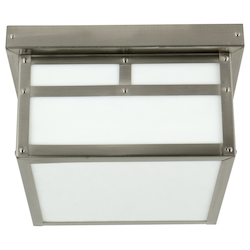 Open Box Mission Series Ceiling Fixture