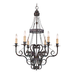 Brookshire Manor Collection 6-Light 38