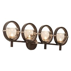 Four Light Old Bronze Wall Light - Kalco 6304OB-1
