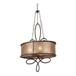 Aged Silver Additional Finish And Shade Options For Whitfield 4 Light Chandelier