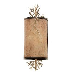Four Light Bronze Gold Wall Light - Kalco 6612BZG