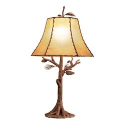One Light Ponderosa Table Lamp - Kalco 872PD