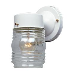 Porch Collection Jelly Jar Wall Light 2061-WH