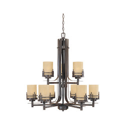 Mission Ridge Collection 9 Light Chandelier 82189-WM