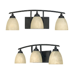 Tackwood Collection 3 Light Bath Bar 82903-BNB