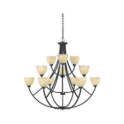 Tackwood Collection 12 Light Chandelier 829812-BNB
