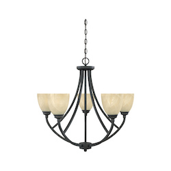 Tackwood Collection 5 Light Chandelier 82985-BNB