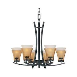 Majorca Collection 6 Light Chandelier 83186-ORB
