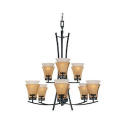 Majorca Collection 9 Light Chandelier 83189-ORB