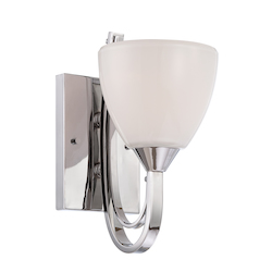 Cortona Collection Wall Sconce 84601-CH