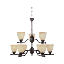 Apollo Collection 9 Light Chandelier 94089-ORB