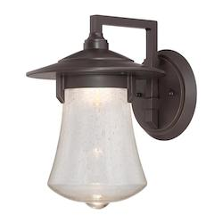 Aged Bronze Patina Paxton 1 Light Outdoor LED Wall Sconce