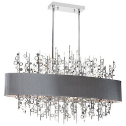 Universal 7 Light Horizontal Crystal Chandelier - 178517