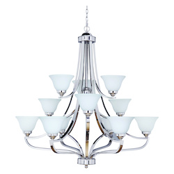 White Up Chandelier - 202327