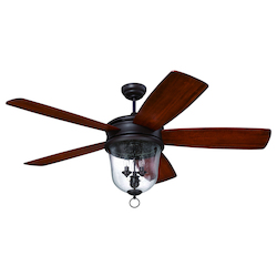 Craftmade Oiled Bronze Gilded Ceiling Fan - FB60OBG5