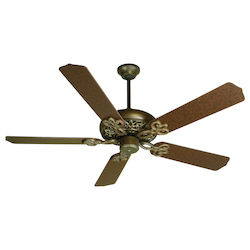 Ag - Aged Bronze Ceiling Fan - 202579
