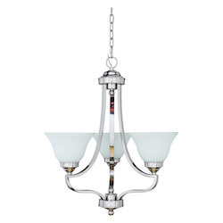 Portia - Three Light Chandelier - 202583