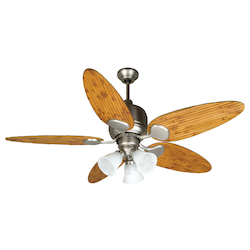 Craftmade Three Light Bn - Brushed Nickel Ceiling Fan - K10707