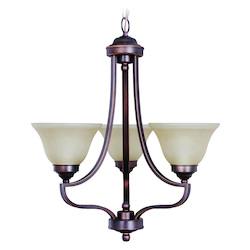 Portia Three Light Chandelier - 202972