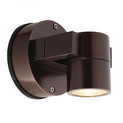 Clear Single Light Down Lighting Outdoor Spotlight From The Ko Collection