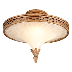 Tivoli Silver Ceiling Fixture from the Tivoli Collection