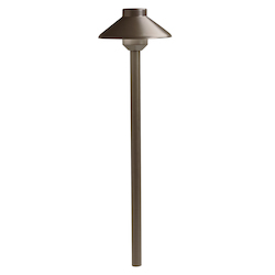 Llenita Led Path With Bronze Finish
