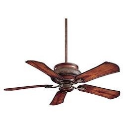 Craftsman 5 Blade 52In. Indoor / Outdoor Ceiling Fan - Light, Wall Control, Blades Included