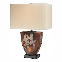 Amber 2 Light 23.5in. Height Table Lamp - 217012